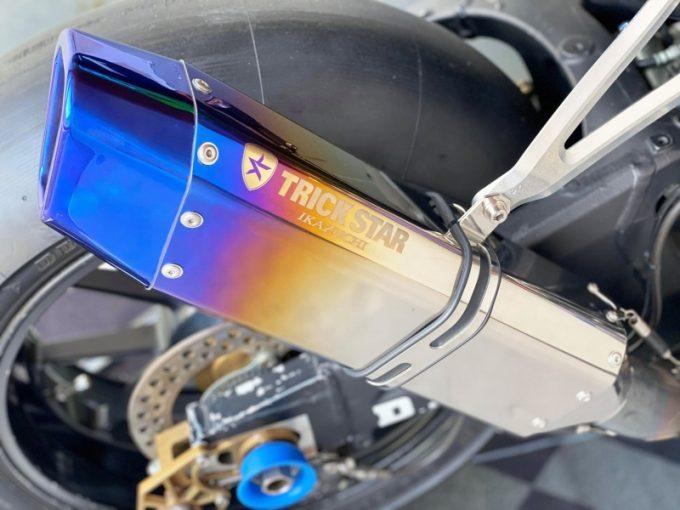 TRICKSTAR melancarkan IKAZUCHI SILENCER dengan spesifikasi perlumbaan sebenar