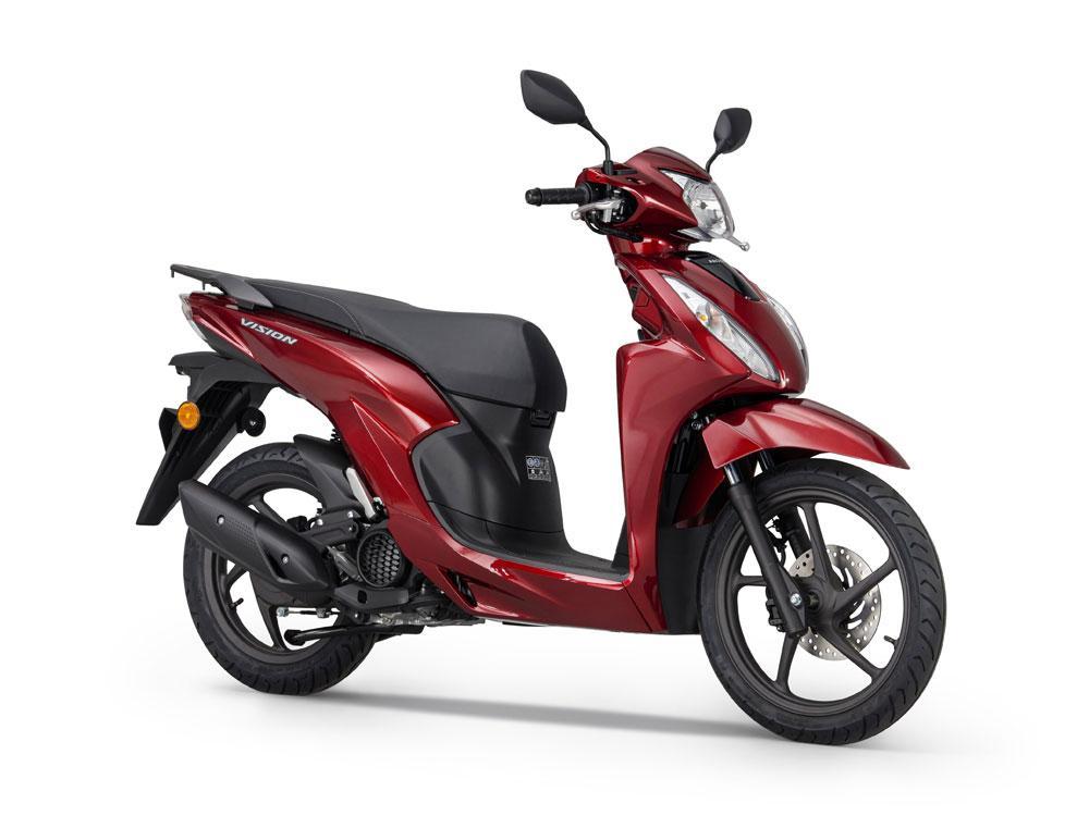 Honda Vision 110 2021 Sudah Menjadi Euro 5 dan Dilengkapi dengan Smart Key!