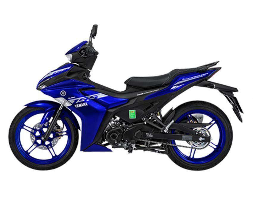 Yamaha Melancarkan video Yamaha Exciter 155 2021 yang baru Thailand