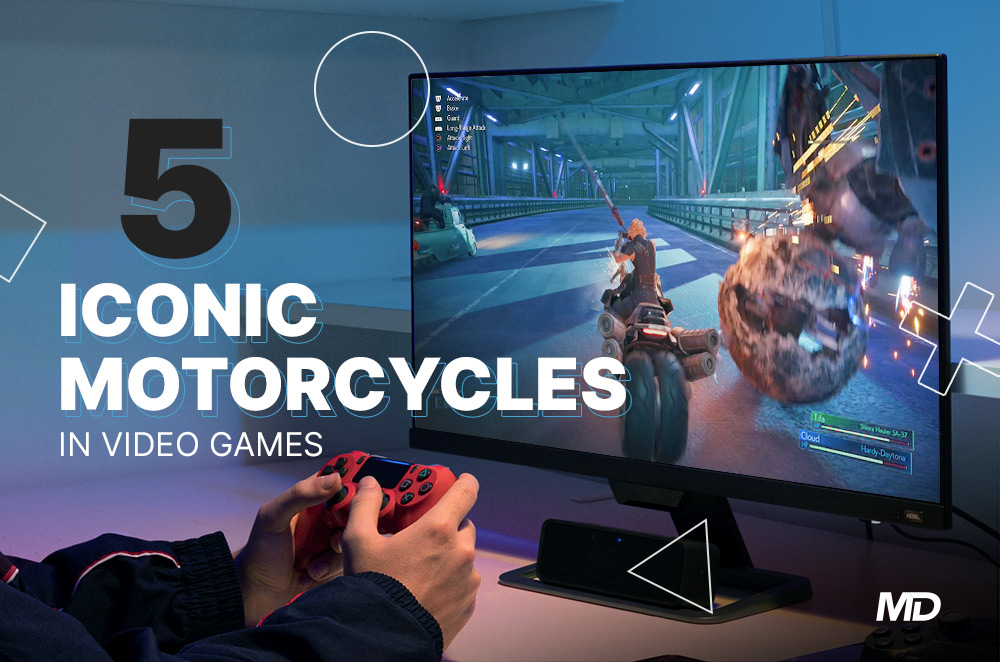 5 model motosikal yang sering dilihat dalam permainan video