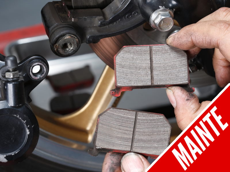 Cara membongkar bahagian untuk mengganti pad brek tanpa merosakkan peranti
