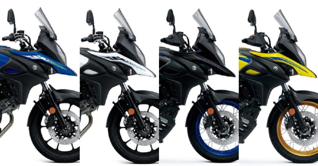 SUZUKI melancarkan warna baru untuk motosikal pengembaraan V-Storm 650 dan V-Storm 650 XT
