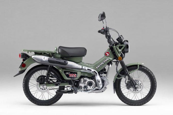 Honda melancarkan warna baru untuk CT125 Hunter Cub (Japun)