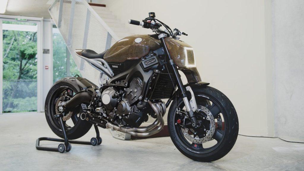 Motor DAB Gaya Custom Yamaha XSR900